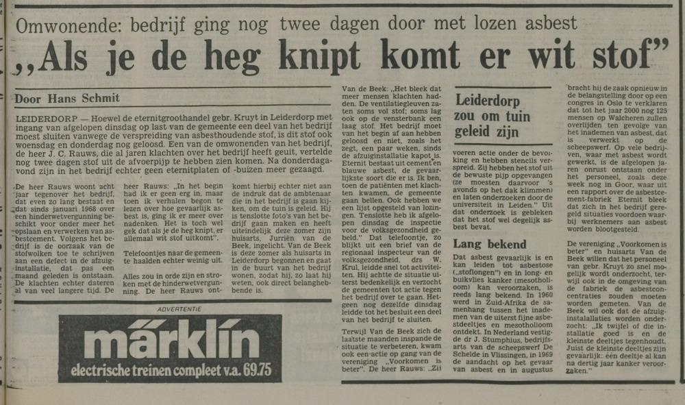 Kruyt NLC 27 nov 1976