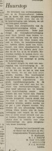 WeWo BHW namen LD 27 mei 1972