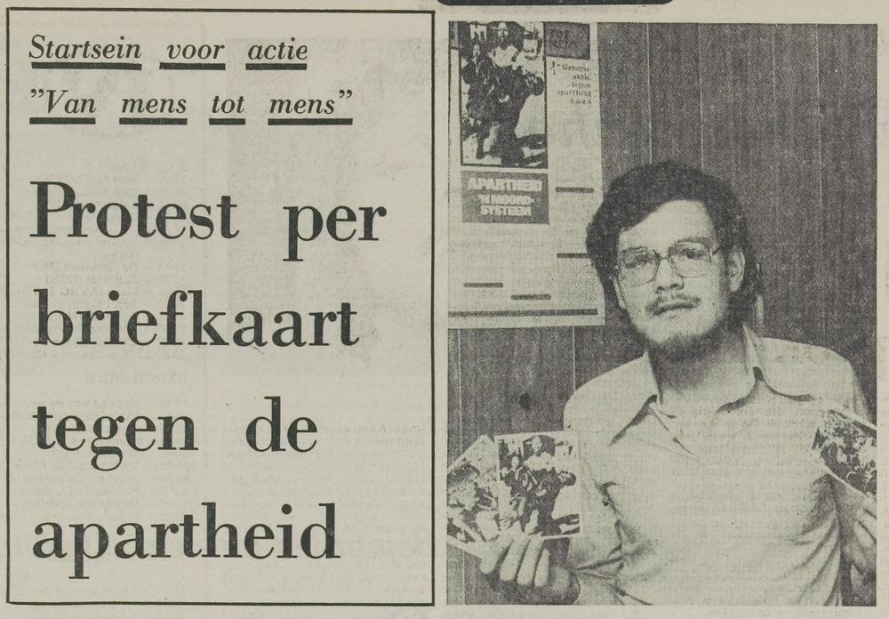 """Harry Boddé, leraar aan de Oranje-Nassau-mavo in Leiden: """"Je kunt niet alles tegelijk aanpakken. Maar ergens moet je beginnen."""""""