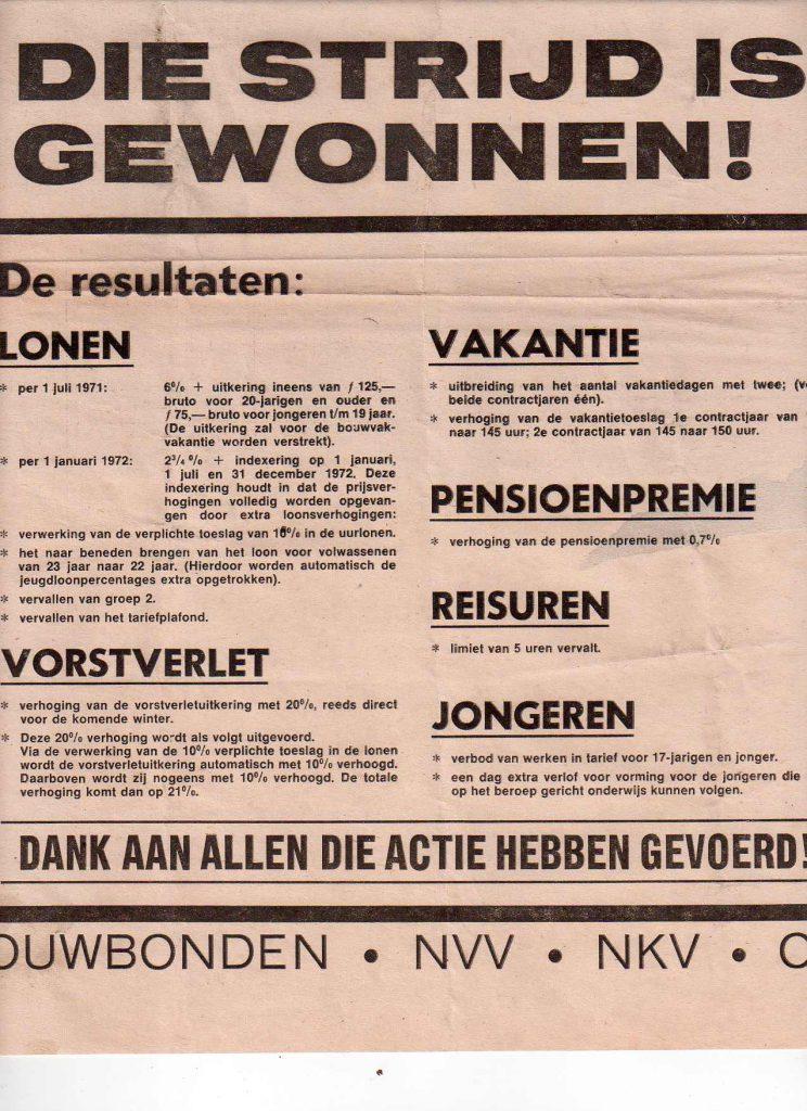 Pamflet Bouwbonden 26-5-1971