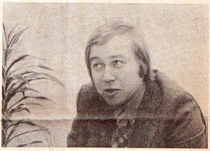 Marcen van Dam in het Leidsch Dagblad 12/3/1974