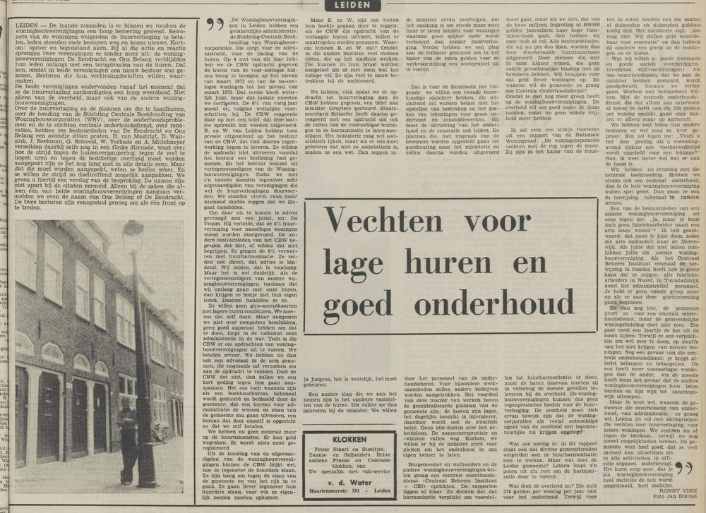 Leidsch Dagblad 21 juli 1973