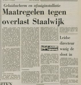 Staal LD 30 juli 1974
