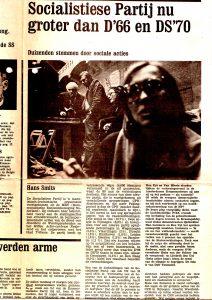 Vrij Nederland, 8 juni 1974
