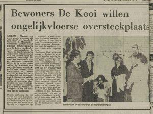 Wethouder Waal, Cor Vergeer (naast Waal), , r. mw. Montanje en mw. Groenendijk