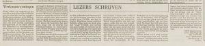 WeWo2 lezers LD 9 nov 1976