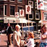 Hennie Valk op de Hoogstraat