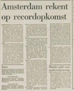 Leidsch Dagblad 21/11/1981