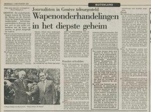 Leidsch Dagblad 1/12/1981